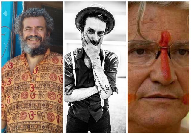 Samarone, Trummer e Carelli: visões diferentes de Olinda. Fotos: Arquivo/DP