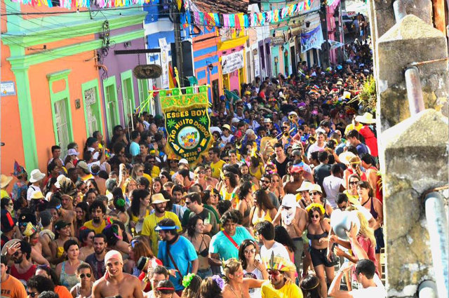 Folia em Olinda: marca da cidade. Foto: Arquivo/DP