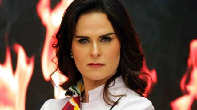 Danielle também é jurada do Bake Off Brasil. Foto: SBT/Reprodução