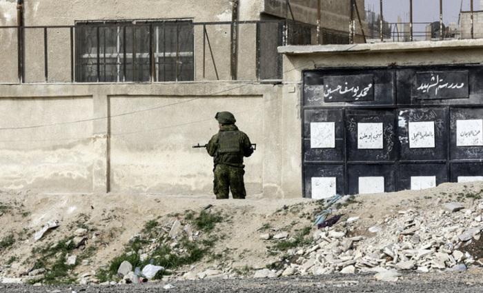 Militares cuidam das principais fronteiras próximas ao enclave. Foto: LOUAI BESHARA / AFP