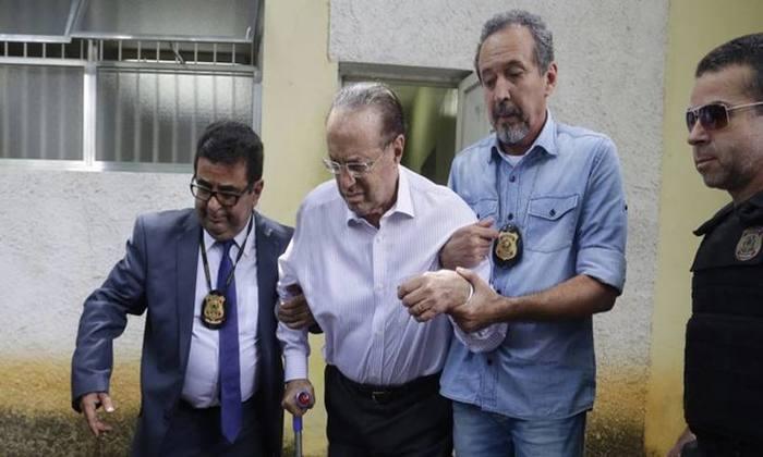 Maluf foi preso em 20 de dezembro, após condenação a 7 anos e 9 meses por lavagem de dinheiro. Foto: Nelson Antoine/Folhapress