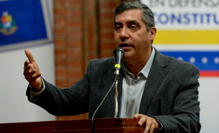Ele foi acusado de envolvimento em complôs com agências de inteligência dos EUA. Foto: Federico PARRA/AFP (Foto: Federico PARRA/AFP)