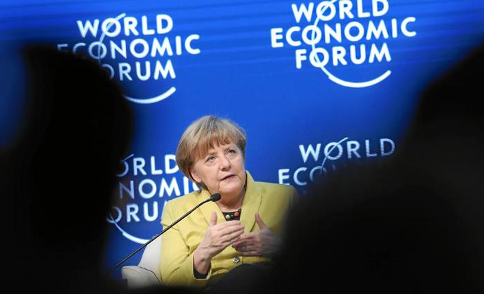 Merkel e os integrantes de seu gabinete tomam posse ainda nesta quarta-feira. Foto: Moritz Hager/WORLD ECONOMIC FORUM (Foto: Moritz Hager/WORLD ECONOMIC FORUM)