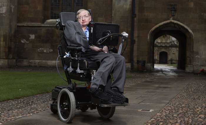 O astrofísico britânico Stephen Hawking faleceu aos 76 anos. Foto: Reprodução/Flickr