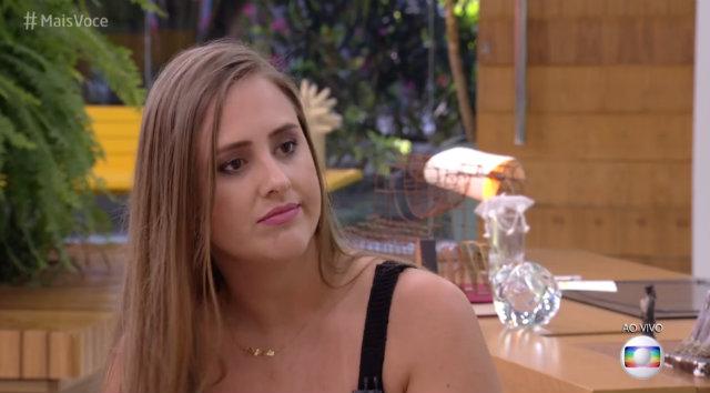"""Patrícia fala sobre sua passagem pelo reality show: """"Estou me sentindo leve por ter saído"""". Foto: TV Globo/Reprodução"""
