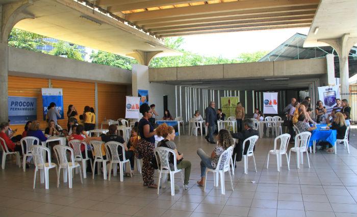 OAB lembra Dia do Consumidor com ação de orientação no metrô. Foto: OAB/ Divulgação