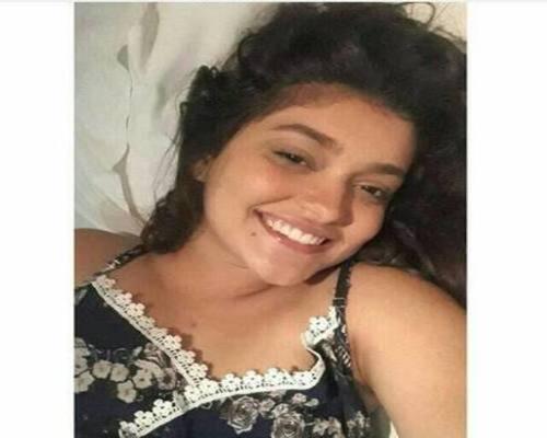 Letícia descobriu que estava com um câncer raro no final de 2017. Foto: Facebook/Reprodução