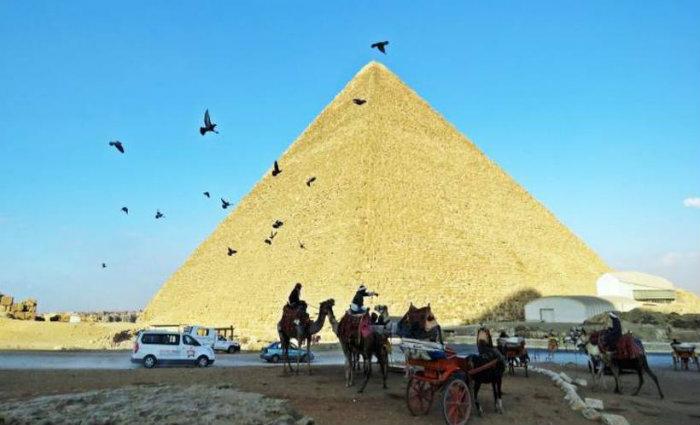 O Cairo conta,  ainda, com pontos turísticos de outras religiões. Foto: Paulo Lannes/Esp. CB (Foto: Paulo Lannes/Esp. CB)