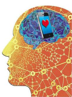 Ao analisar o impacto do smartphone nas relações interpessoais e do usuário com o ambiente físico e social, o estudo demonstrou que 33% dos entrevistados preferem a companhia dos aparelhos. Foto: Samuca/Arte DP  (Foto: Samuca/Arte DP )
