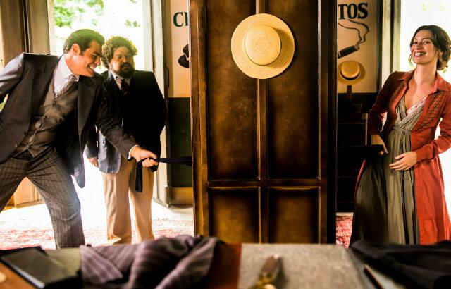 Thiago Lacerda e Nathalia Dill interpretam os personagens principais da novela. Foto: Rede Globo/Divulgação