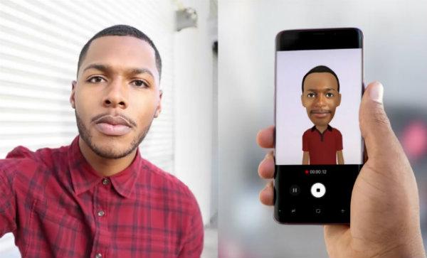 Recurso My Emoji mapeia mais de 100 expressões faciais e faz um avatar virtual do usuário. Créditos: Samsung/Divulgação
