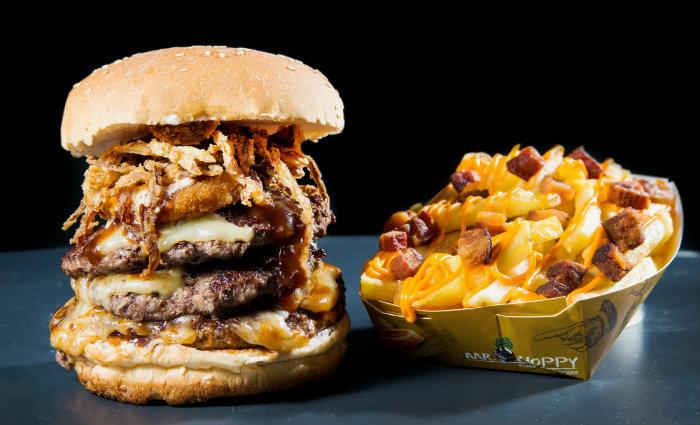 O hambúrguer é a estrela do festival e queridinho dos ogros. Foto: Aderval Jr/Divulgação (Foto: Aderval Jr/Divulgação)