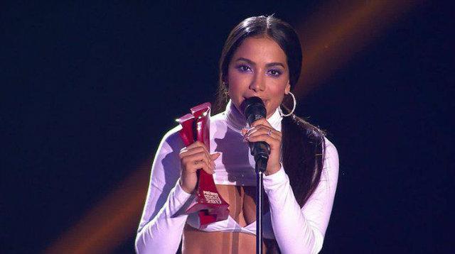 Anitta foi indicada a nove das 12 categorias do MTV Miaw. (foto: Multishow/Reprodução)