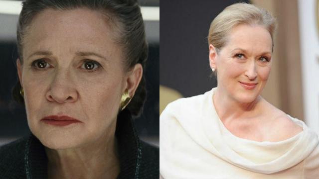 Streep coleciona diversos prêmios, incluindo três Oscars. Foto: Disney e AFP/Reprodução