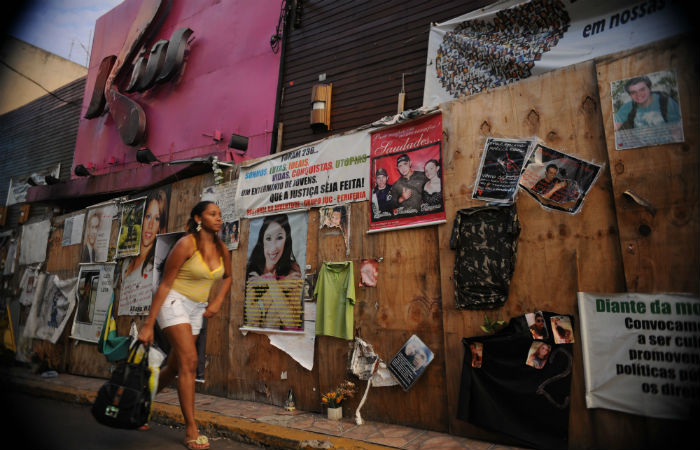 Incêndio que aconteceu na madrugada de 27 de janeiro de 2013 deixou 242 mortos e 680 feridosFoto: Fernando Frazão / Agência Brasil