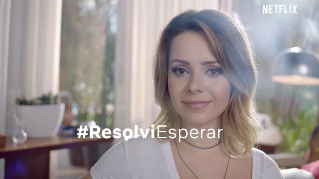 Depois de Xuxa, Evaristo Costa e Gretchen, foi a vez de Sandy protagonizar uma campanha do serviço de streaming. Foto: Netflix/Reprodução