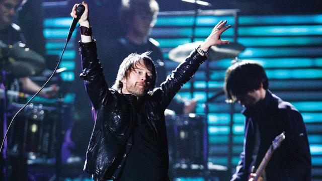 O show ocorre no sábado, 14, no Tecnópolis, em Buenos Aires. Foto: Radiohead/Divulgação
