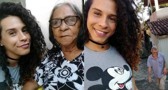A maquiadora Karen Maria Reis narra gestos de respeito à sua identidade de gênero. Foto: Facebook/Reprodução