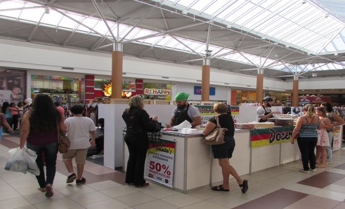 A feira está funcionando no mesmo horário do mall e tem entrada gratuita. Foto: Divulgação