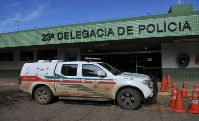 Homem fugiu depois do crime, mas foi preso na 23ª Delegacia de Polícia. Foto: Minervino Junior/CB/D.A Pres