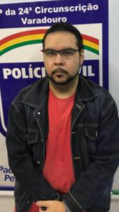 A Polícia Civil divulgou nome e a imagem do suspeito. Foto: Polícia Civil de Pernambuco/Divulgação