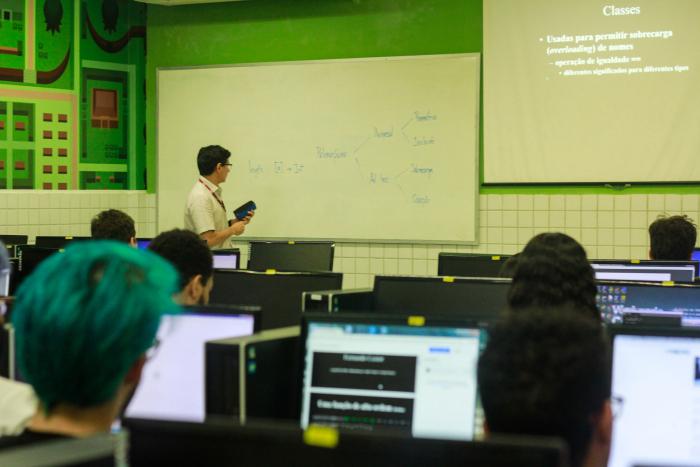O Centro de Informática da UFPE tem o maior número de projetos da Lei de Informática do país. Foto: Thalyta Tavares/Esp.DP.
