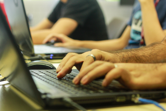 Maioria dos alunos é do sexo masculino.Foto: Thalyta Tavares/Esp.DP.