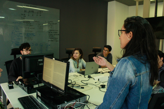 SandPIT é o mais novo espaço do CIn. Foto: Thalyta Tavares/Esp.DP.