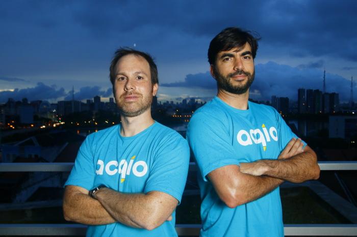 Gustavo Danzi (esq) e Igor Gatis (dir) têm parceria desde a graduação. Foto: Shilton Araújo/Esp.DP.