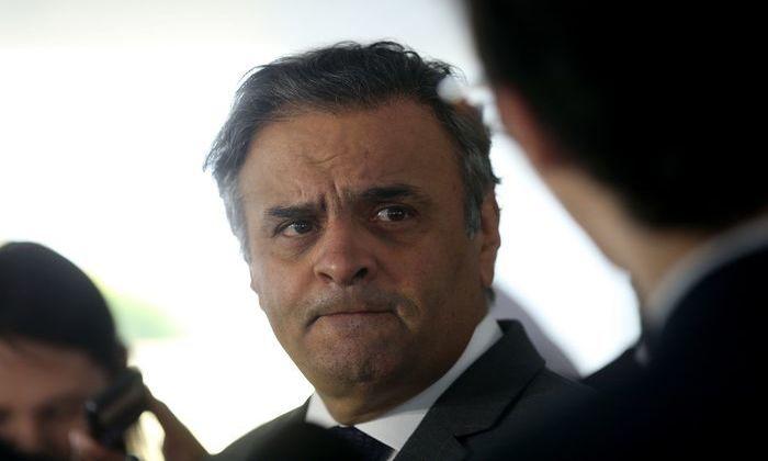 A denúncia contra o senador Aécio Neves é pelos supostos crimes de corrupção passiva e obstrução de Justiça. Foto: Wilson Dias/Agência Brasil