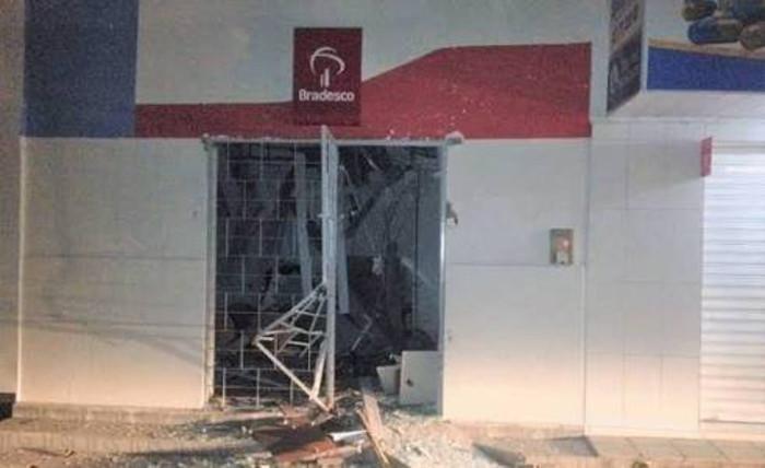 Com a explosão, sobe para 51 o total de investidas contra bancos em Pernambuco. Foto: Sindicato dos Bancários/Cortesia