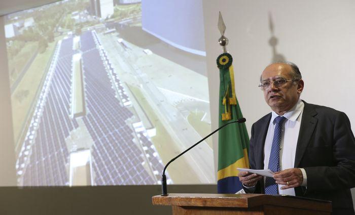 Gilmar Mendes, do Supremo Tribunal Federal (STF) proibiu o Tribunal de Contas da União (TCU) de declarar inidônea a Andrade Gutierrez.. Foto: Antonio Cruz/ Agência Brasil