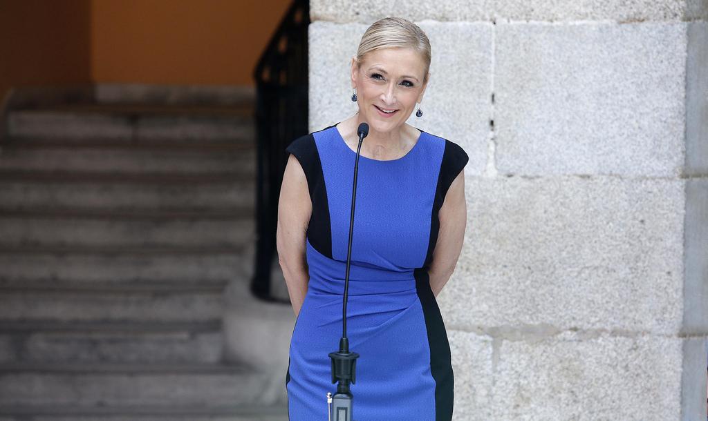A presidente da região de Madri, a conservadora Cristina Cifuentes. Foto: Reprodução/Internet