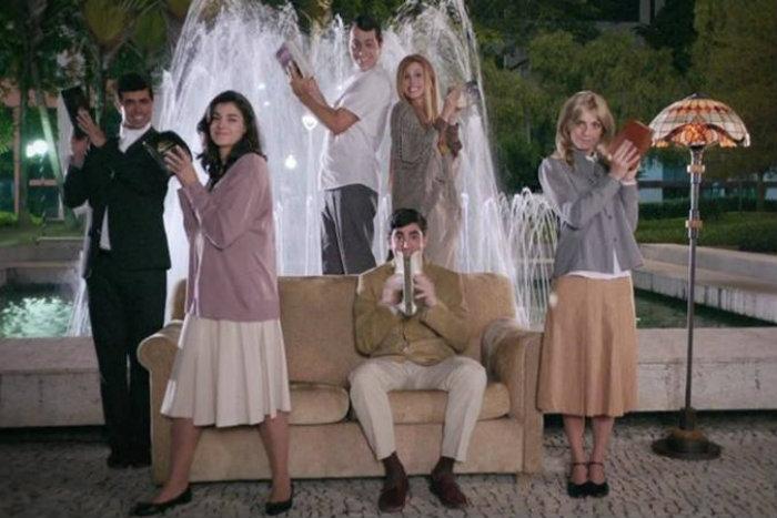 O humorístico ficou famoso por parodiar programas de TV (foto: Globo/Reprodução)