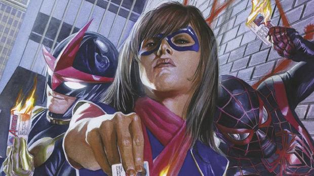 Nova, Miss Marvel e Homem-Aranha são figuras centrais da nova revista mensal. Foto: Panini/Divulgação