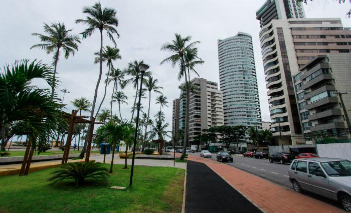 A praia é considerada o principal fator de atração de moradores para a região. Foto: Thalyta Tavares/Esp.DP