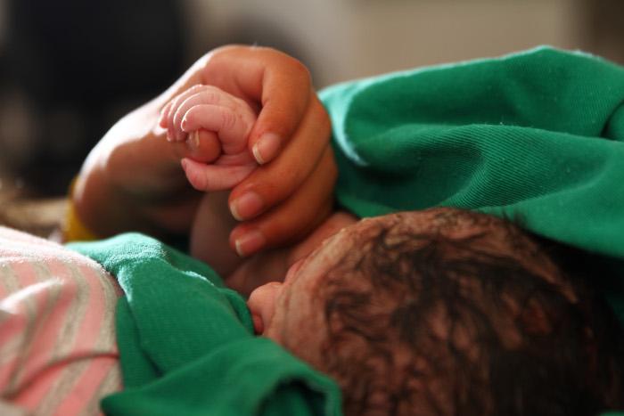 No Hospital da Mulher do Recife (HMR), dos 7,4 mil partos, 74% foram normais. Foto: Peu Ricardo/DP (Peu Ricardo/DP)