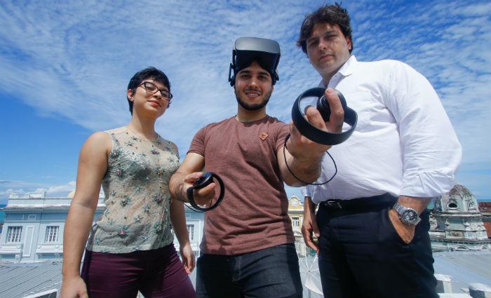 Débora Rodrigues, Milton Neto e Bruno Salvetti esperam que a ORB tenha crescimento de 400% neste ano. Foto: Marlon Diego/DP (Foto: Marlon Diego/DP)