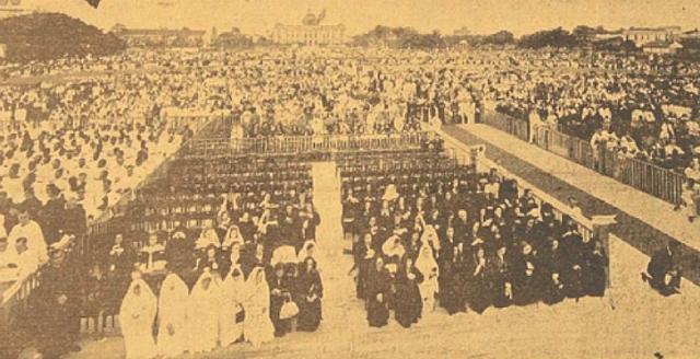 Arquibancadas foram montadas no Parque 13 de Maio para o evento. Foto: Jornal Diario da Manhã/Reprodução