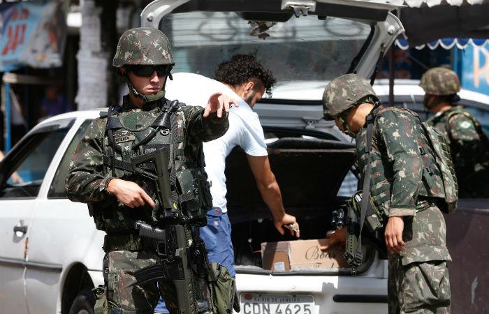 Intervenção militar no Rio foi aprovada em fevereiro de 2018 Foto: Tomaz Silva / Agência Brasil