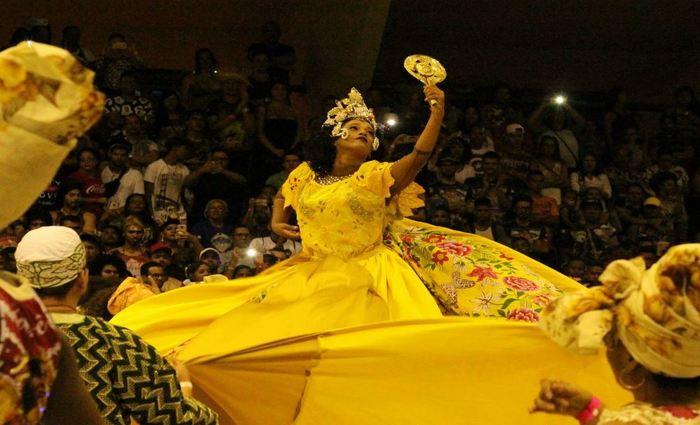 Junina Origem Nordestina homenageando a deusa Oxum, de matriz africana. Foto: Samuel Calado/Esp.DP