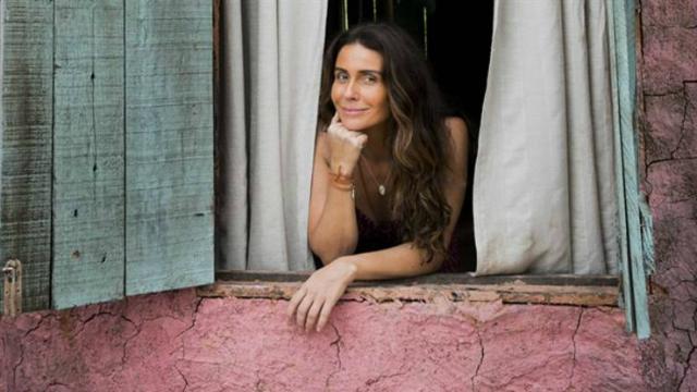 Giovanna Antonelli, que é protagonista da trama, é uma das convidadas do TV Fama. Foto: João Miguel Júnior/Globo