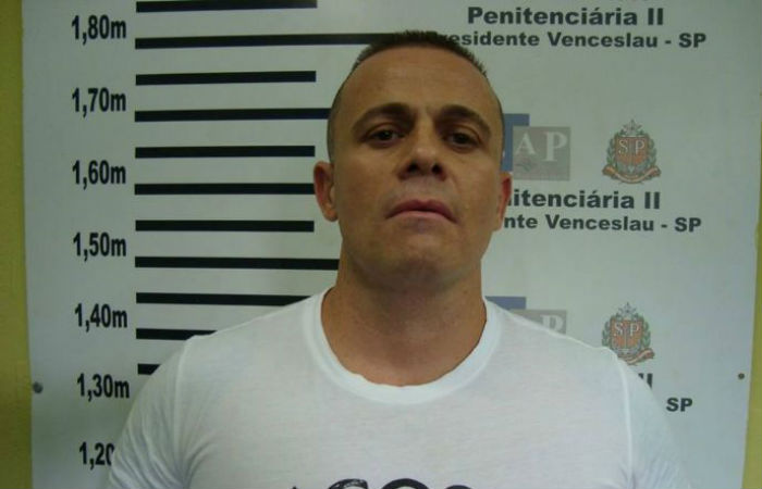 Gegê do Mangue foi executado no Ceará em fevereiro de 2018 Foto: Polícia Militar de SP / Divulgação