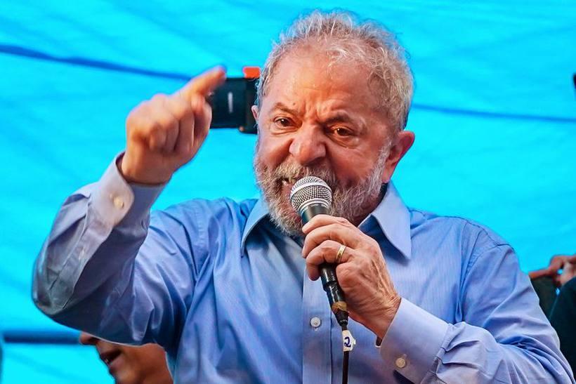 Lula teria mostrado indignação diante das denúncias que pesam contra ele. Foto: Jefferson Bernardes/AFP