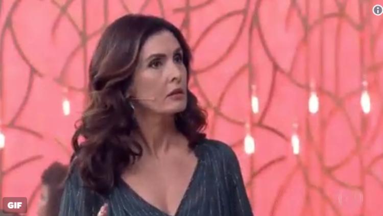 Fátima 'confusa' conquistou a internet na manhã desta quarta-feira. (foto: TV Globo/Reprodução)