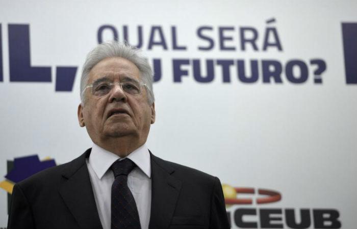 Movimento conta com a chancela do ex-presidente Fernando Henrique Cardoso Foto: Wilson Dias/ Agência Brasil