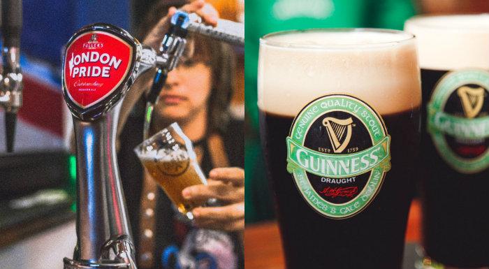 Cervejas importadas são destaques nos cardápios. Foto: Divulgação