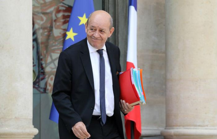 Ministro das Relações Exteriores da França se mostrou preocupado com as declarações dos Estados Unidos Foto: ludovic Marin / AFP