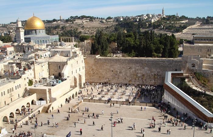 Muro das Lamentações. Foto: Wikimidia Commons/Reprodução