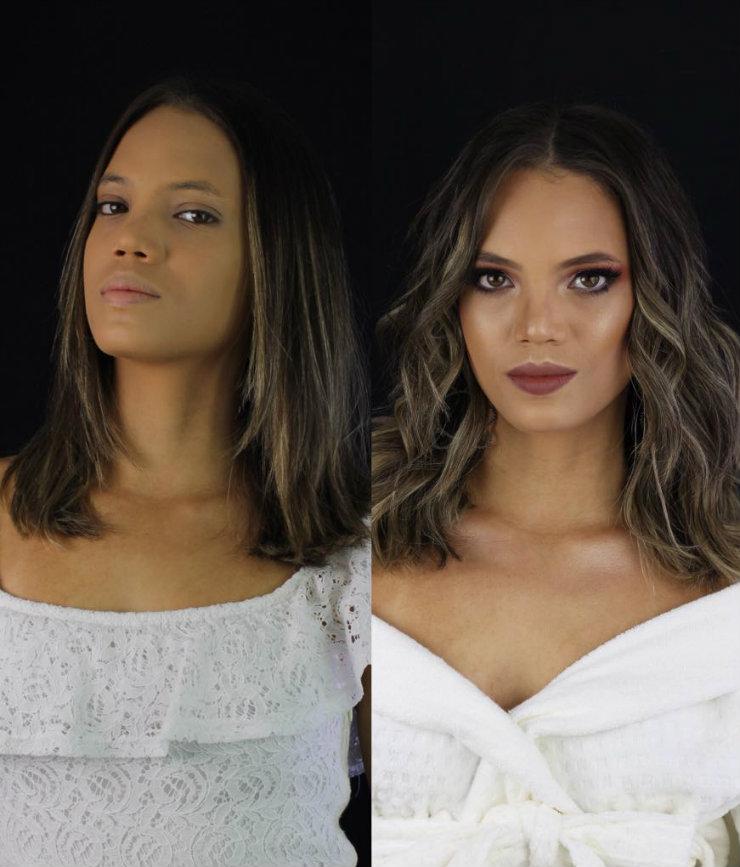 A fim de desconstruir padrões de beleza e realçar traços naturais, o centro de beleza valoriza diferentes tipos de pele e cabelo das mulheres. Fotos: Beauty Bar/Divulgação